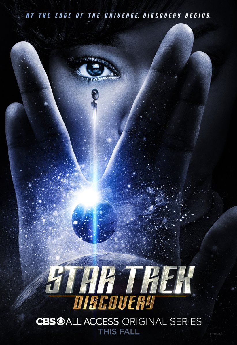 A New Leader Rises In Star Trek: Discovery Poster; CBS Posts Trailer Screenshots