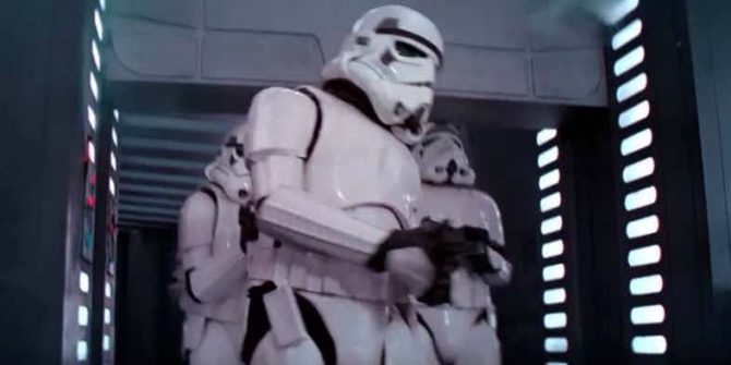 Star Wars' Stormtrooper Head-Banging Blooper Finally Explained