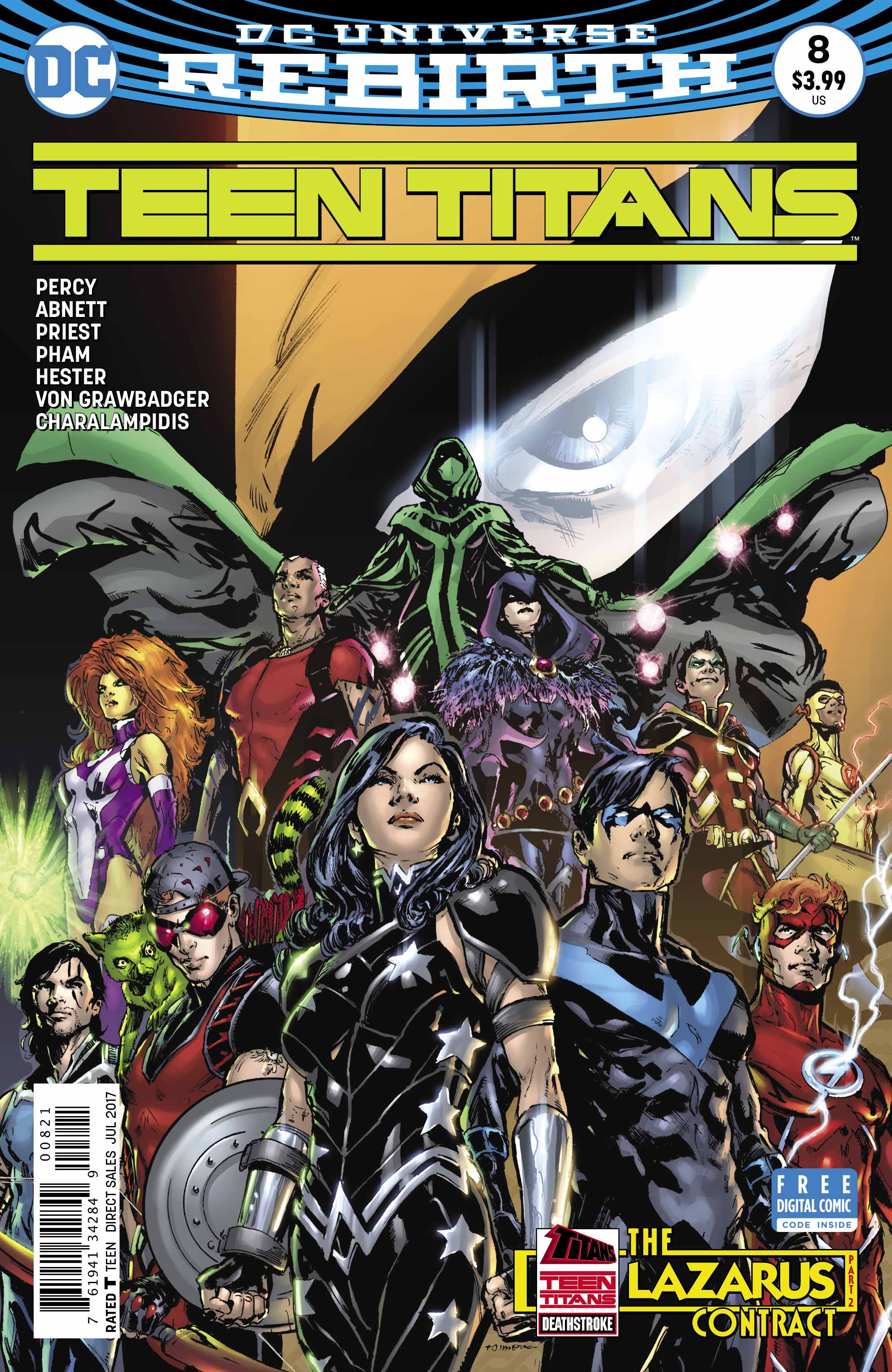 Teen Titans #8 Review