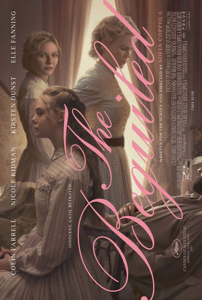 Gothic Horror Creeps To The Fore In Latest Poster For Sofia Coppola Drama The Beguiled