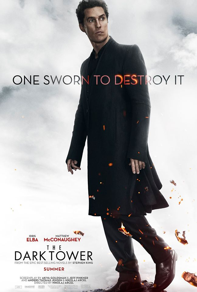 Two Character Posters For The Dark Tower Draw The Line Between Friend And Foe