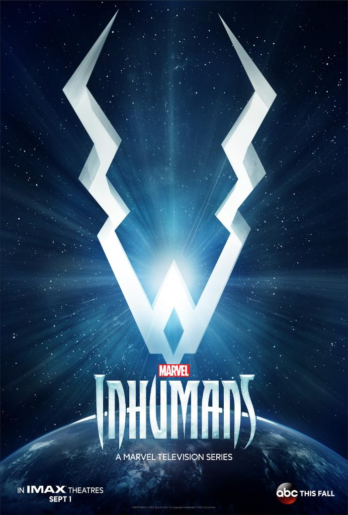 Striking First Poster For Inhumans Teases The Advent Of Marvel's Royal Family