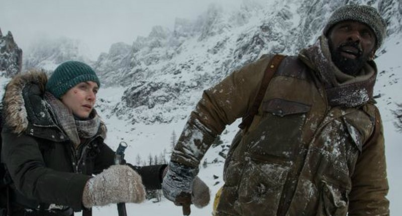 First Look At Icy Drama The Mountain Between Us Finds Kate Winslet And Idris Elba Stranded In The Cold