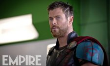 The God Of Thunder Prepares To Step Into The Ring In Latest Thor: Ragnarok Image