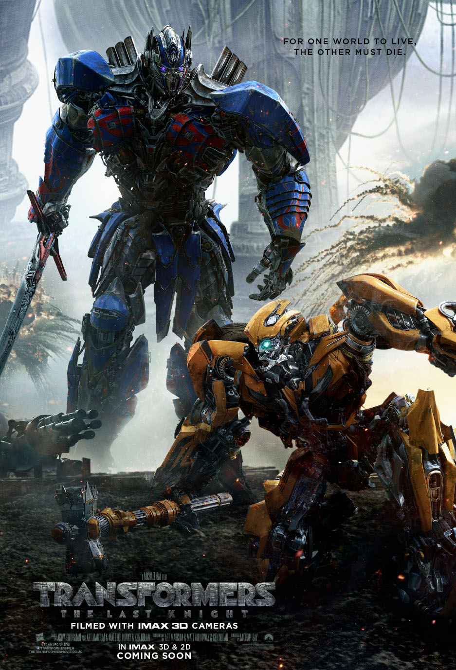 New Footage For Transformers: The Last Knight Expected To Air During MTV Awards