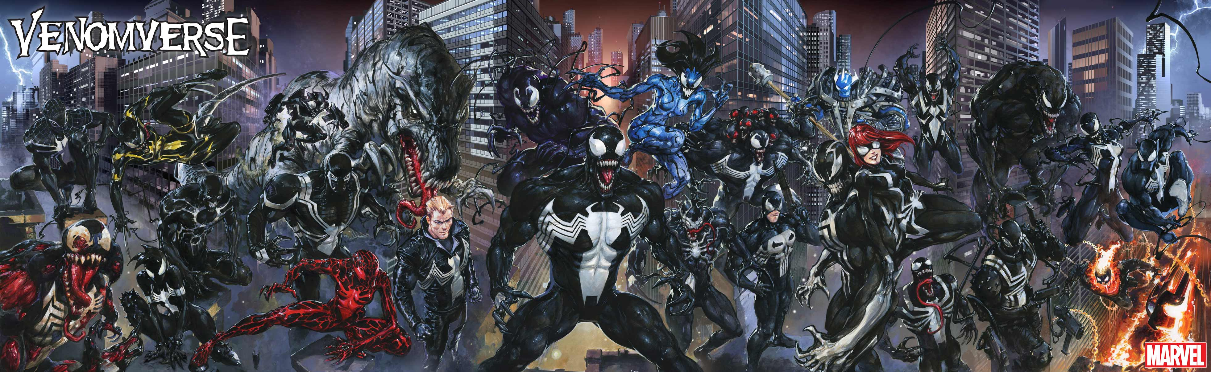 Marvel Paints It Black With Venomverse