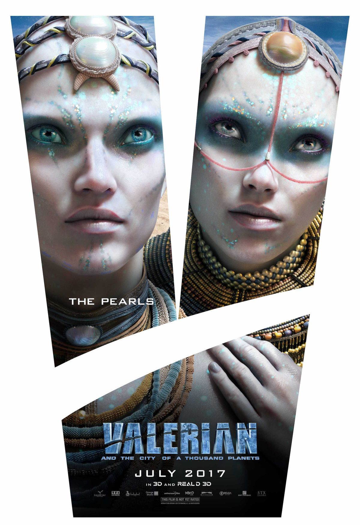 Striking One-Sheets For Valerian And The City Of A Thousand Planets Pinpoint The Key Players