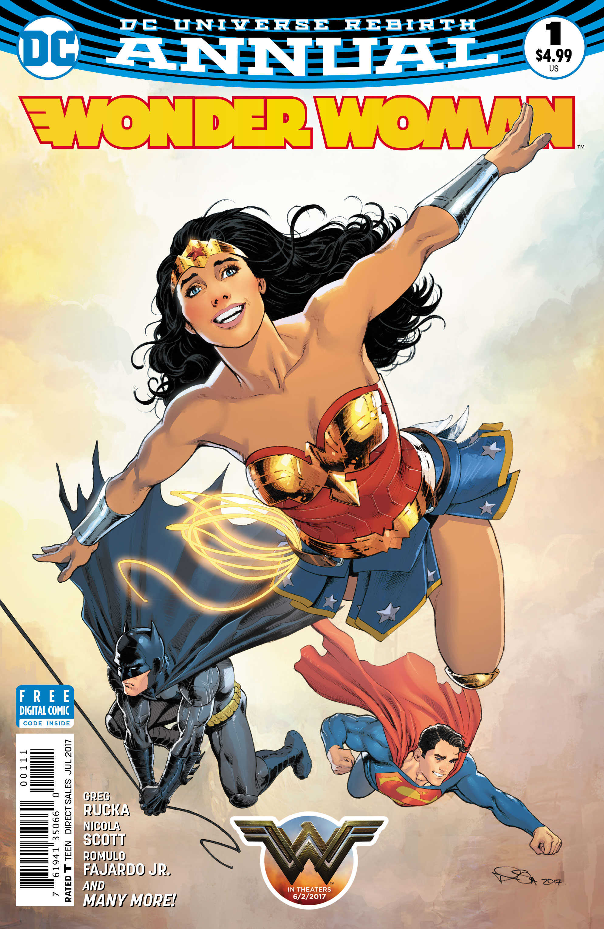 Wonder Woman Annual #1 Review