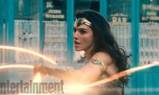 The Immortal Warrior Whips Up A Storm In New Wonder Woman Stills; EW Cover Arrives