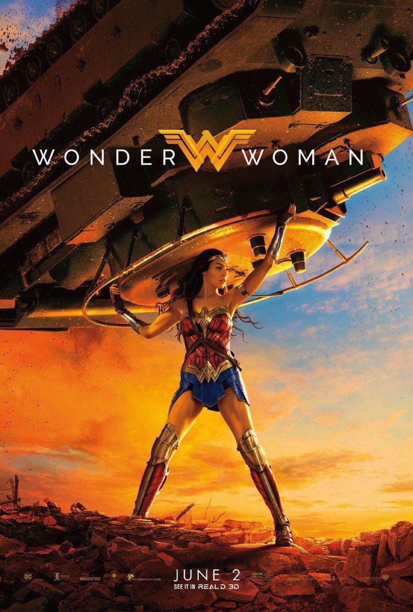 Diana Does The Heavy Lifting In This Beautiful New Poster For Wonder Woman