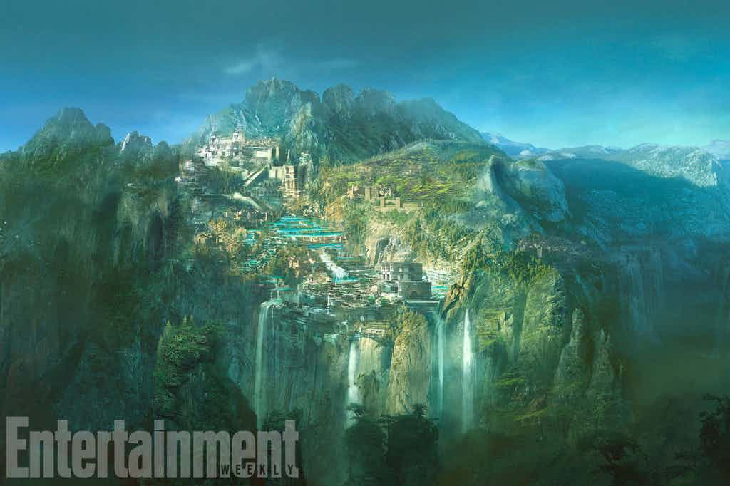 Themyscira And Other Locales Explored In New Wonder Woman Concept Art