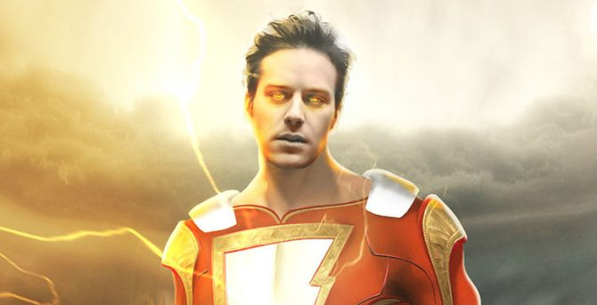 Here's What Armie Hammer Could Look Like As Shazam