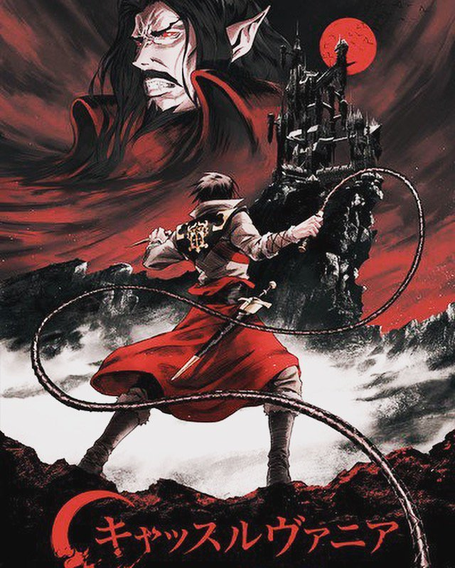 Netflix Conjures Up A Retro Piece Of Art For Upcoming Castlevania TV Series