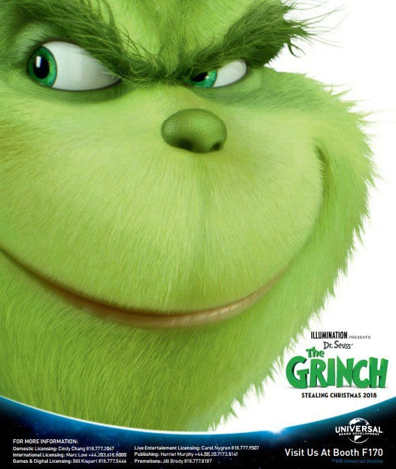 Get Your First Look At Benedict Cumberbatch's Grinch From Universal's Adaptation