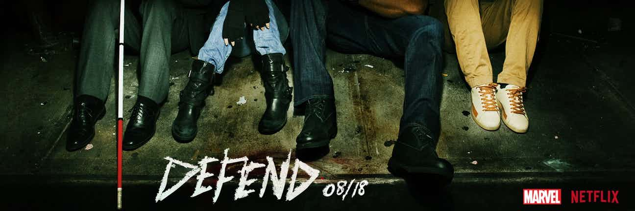 The Defenders Gets An Unusual New Banner Teasing The Team's Arrival