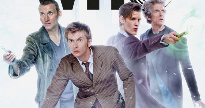 Doctor Who Four Doctor Crossover Coming This August From Titan Comics