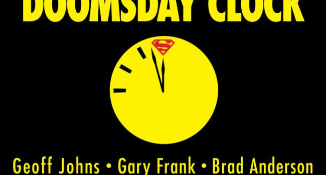 Geoff Johns Offers Insight Into Doomsday Clock At San Diego Comic-Con