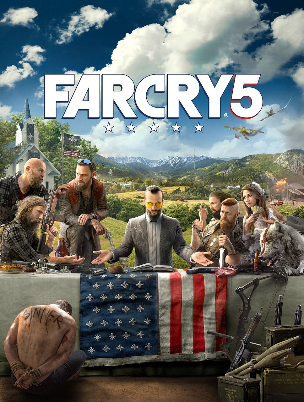 New Fay Cry 5 Artwork Released Ahead Of Friday's Reveal