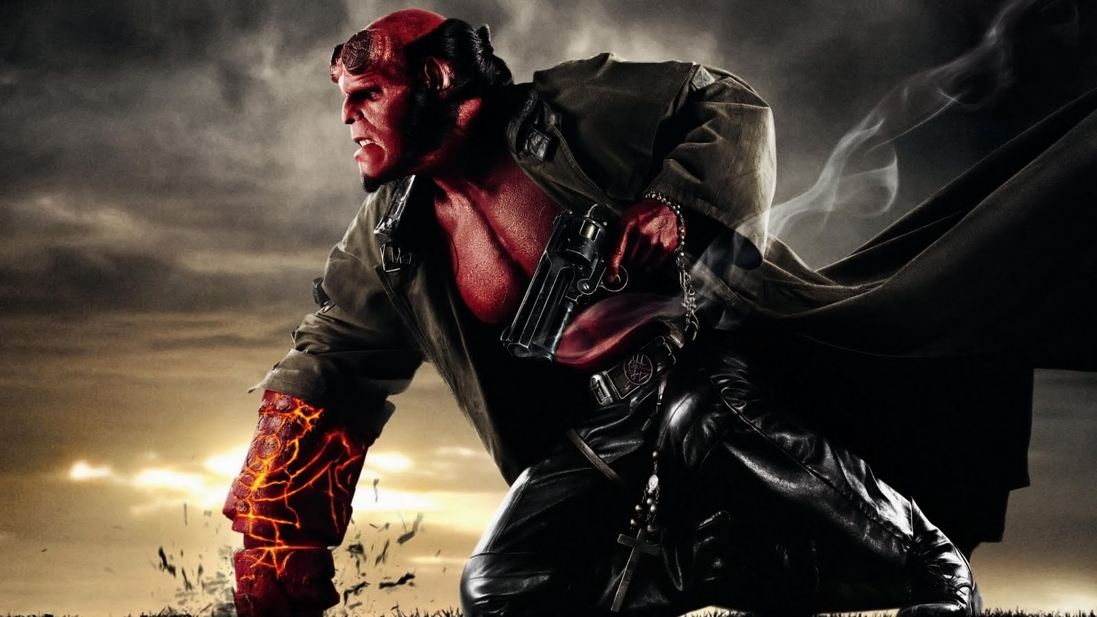 David Harbour On Why Hellboy Is His Favorite Superhero