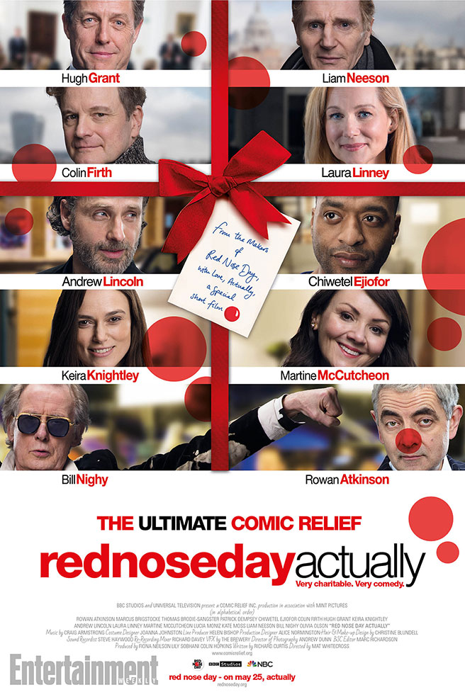 The Love Actually Cast Reunite In Red Nose Day Actually Trailer