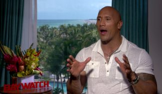 Exclusive Video Interview: Dwayne Johnson Talks Baywatch And Black Adam