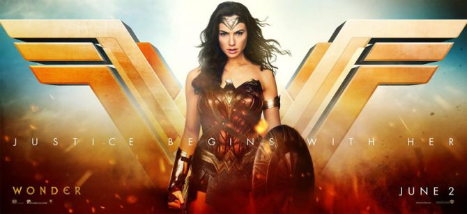 Justice Begins With Diana In This Stunning Wonder Woman Banner