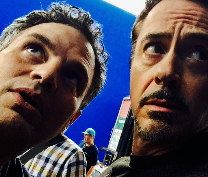 The Sanctum Sanctorum Features In Avengers: Infinity War Set Pic As Ruffalo And Downey Jr. Pose For A Selfie