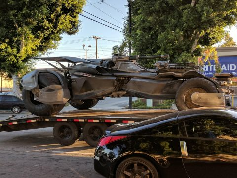 New Image Confirms Batmobile In Justice League Reshoots