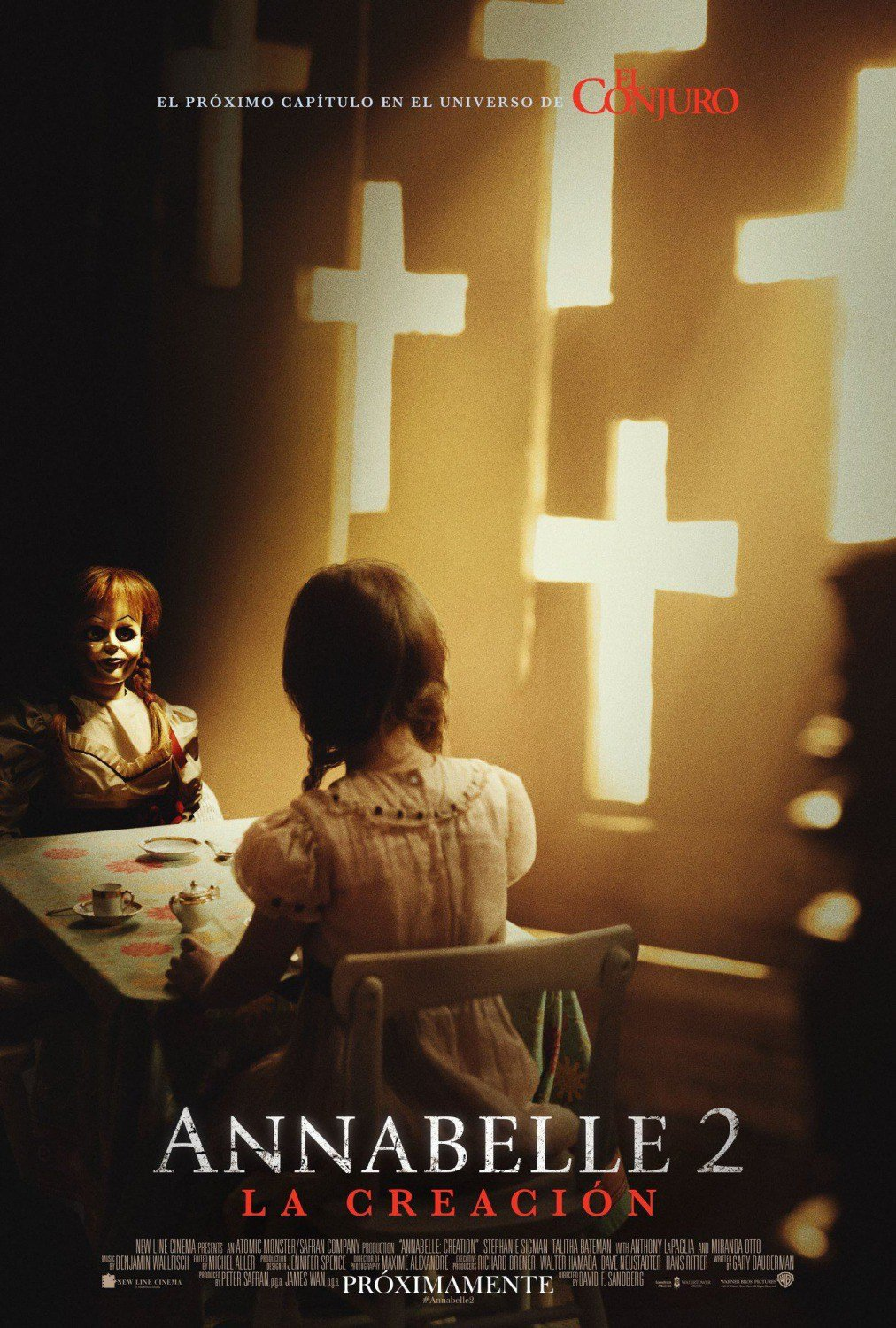 Spooky International Poster For Annabelle: Creation Looms Onto The Interwebs