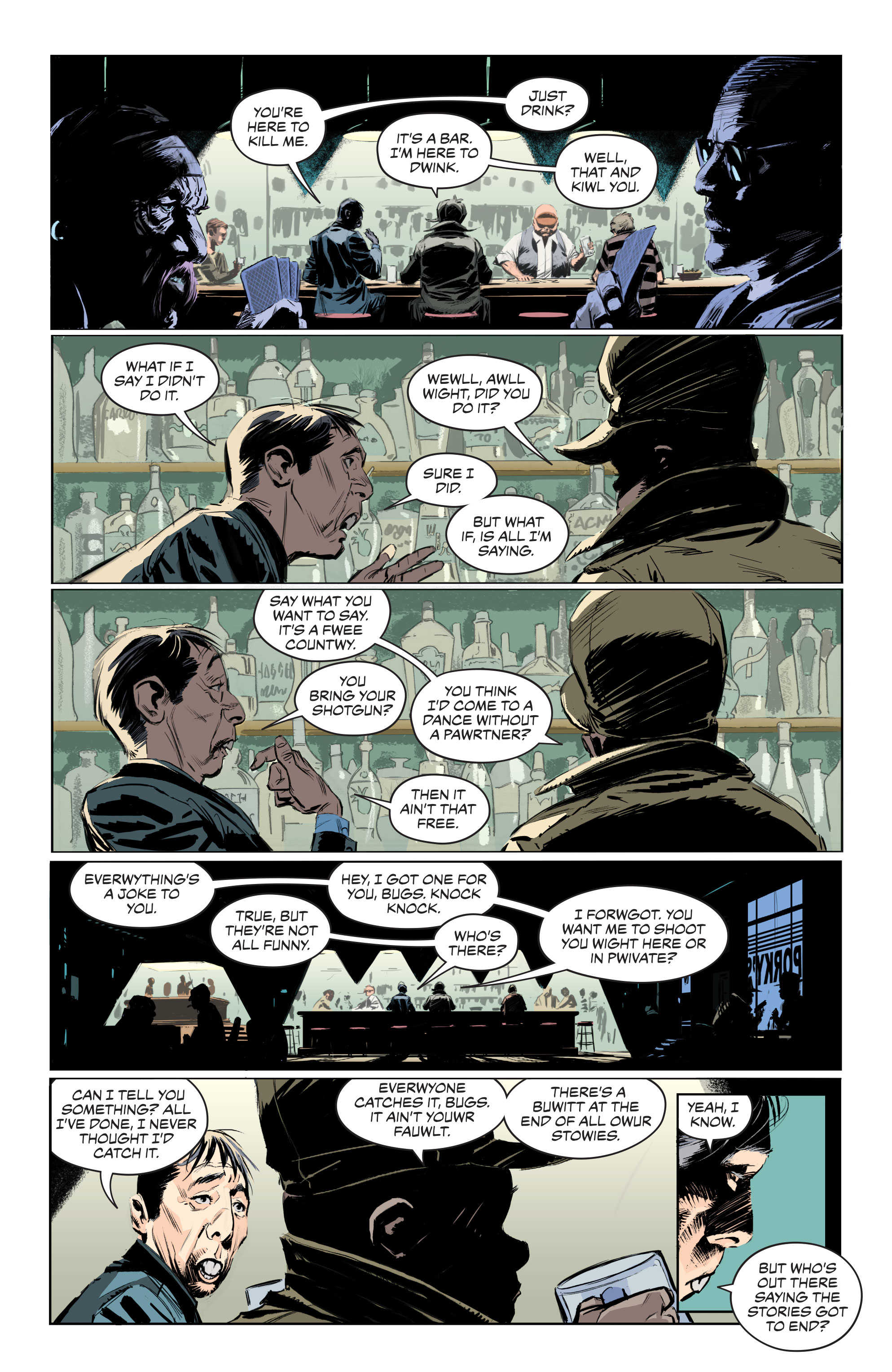 Batman/Elmer Fudd Special #1 Review