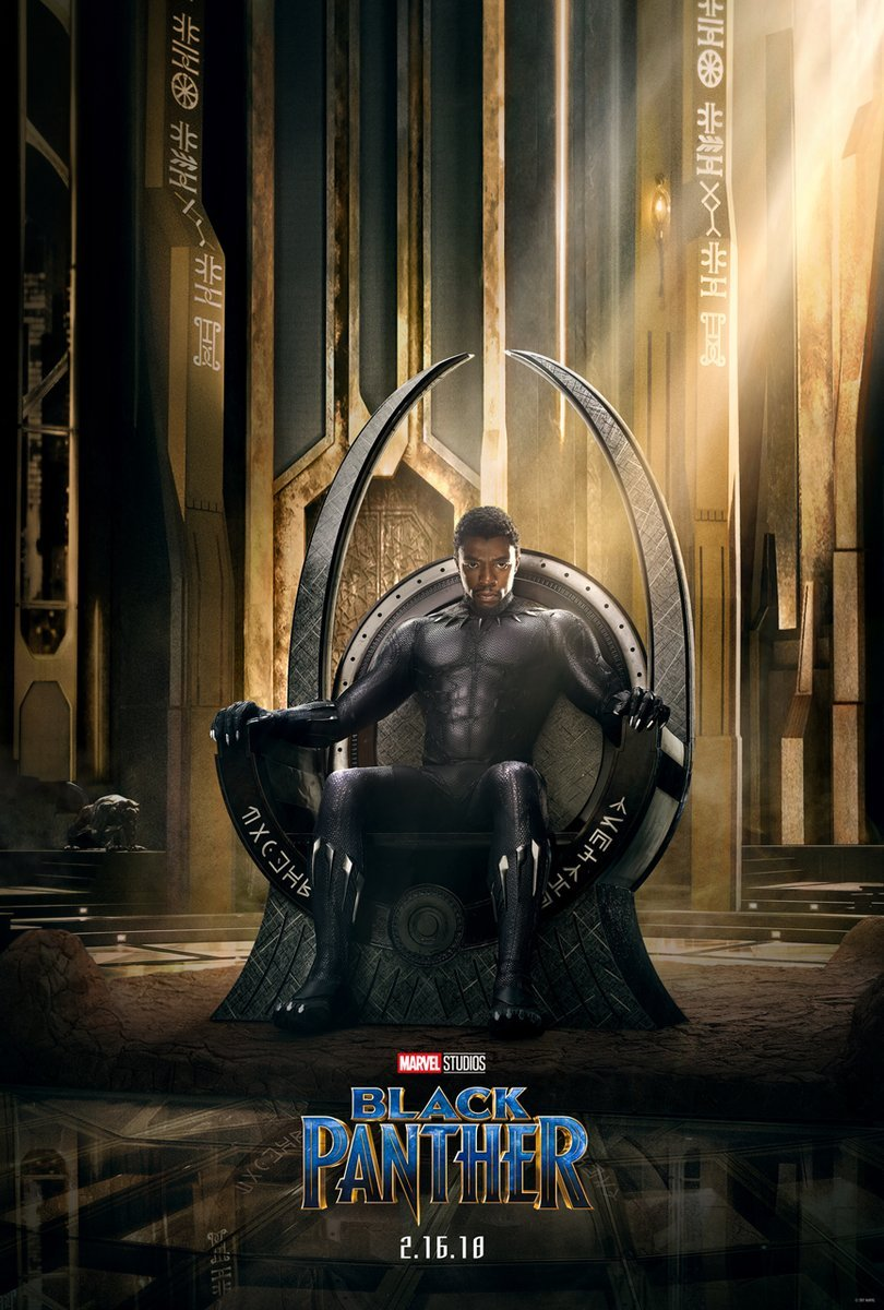 T'Challa Is Crowned King In The Official Black Panther Poster; First Teaser To Claw Its Way Online Tonight