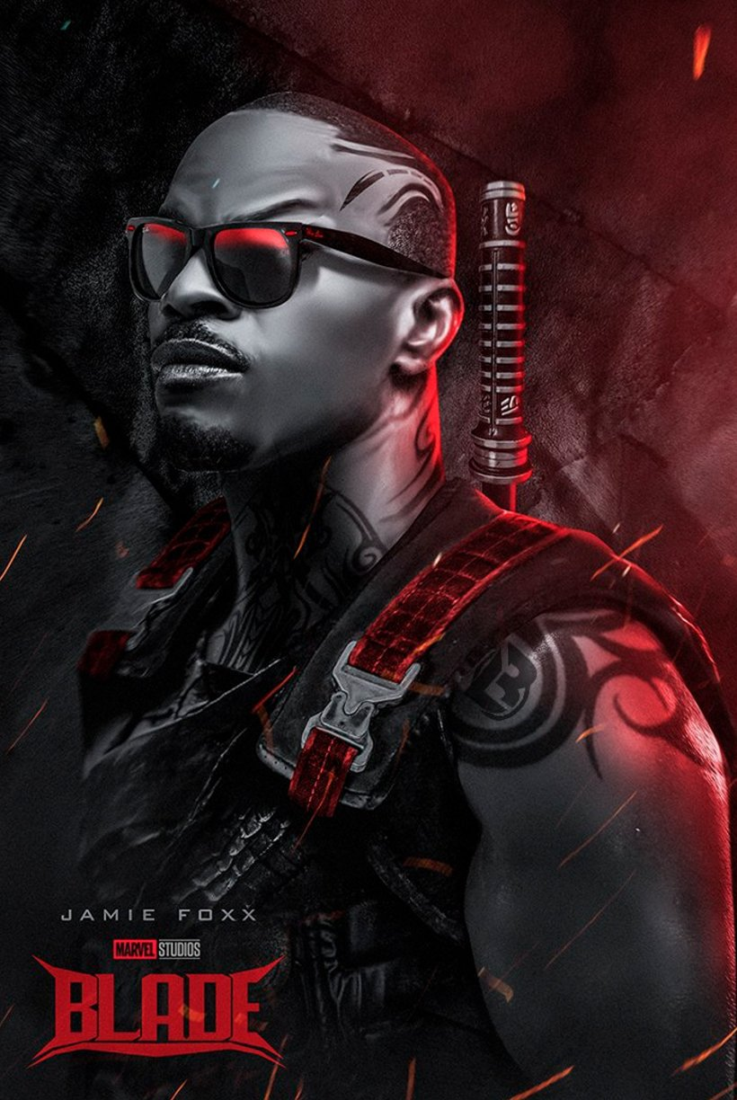 Hellish Concept Art For Blade Imagines Jamie Foxx As The Famed Vampire Hunter