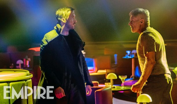 The Old Guard Clashes With The Newbie In All-New Blade Runner 2049 Still