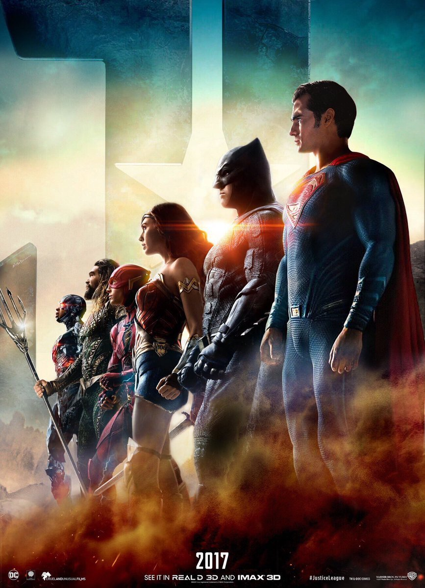 Superman Returns On This Striking Justice League Poster; Trailer Reveal Planned For San Diego Comic-Con