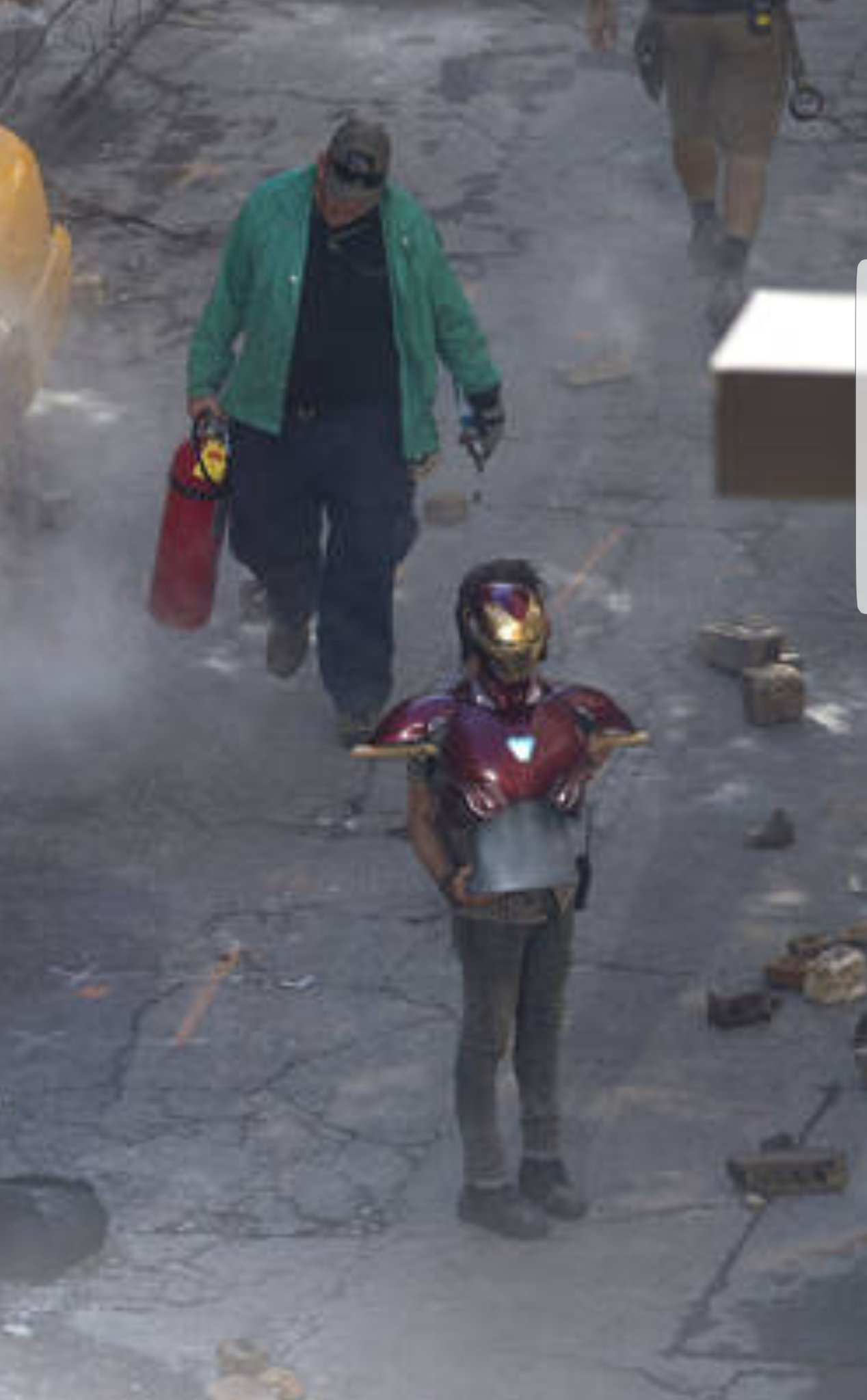 Catch A Glimpse Of Iron Man's Armor In Latest Round Of Avengers: Infinity War Set Photos