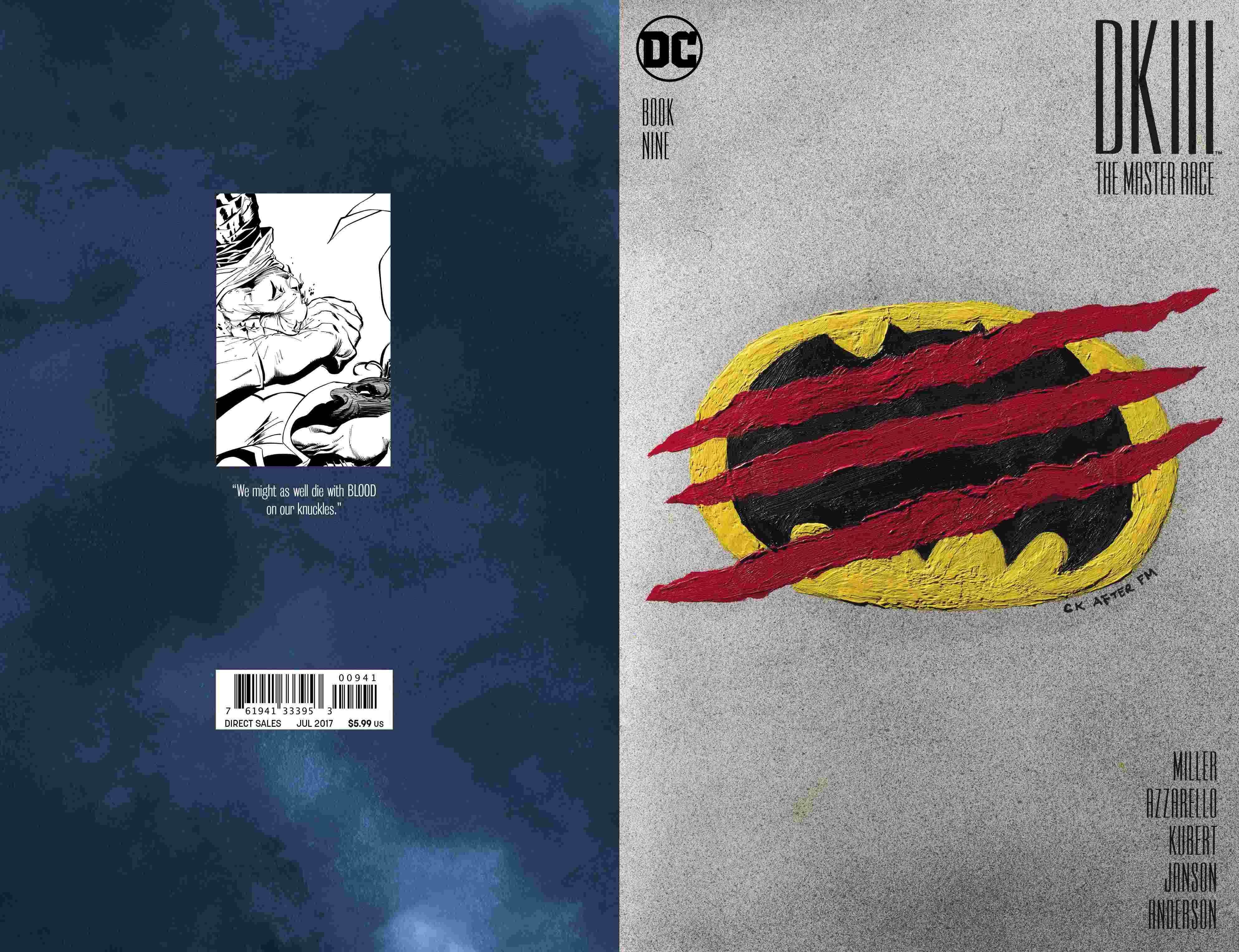 Dark Knight III: The Master Race #9 Review