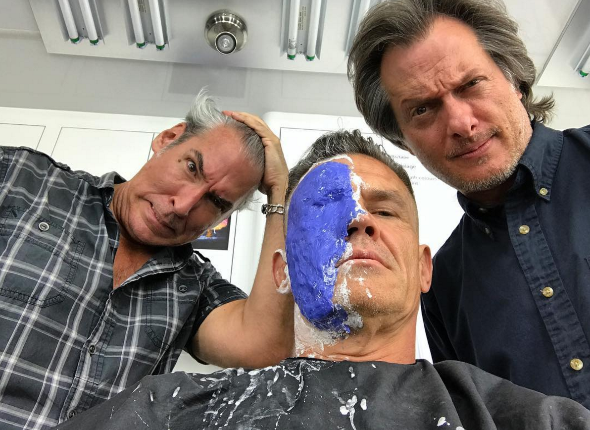 Josh Brolin Posts Another Snap From The Deadpool 2 Make-Up Chair