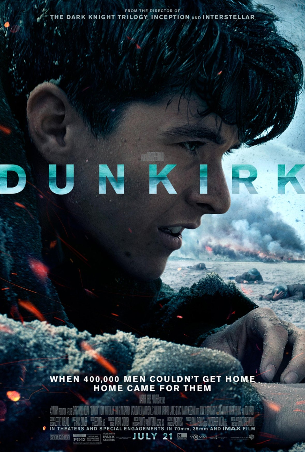 Stirring New Poster For Dunkirk Tees Up A Death-Defying Rescue Mission
