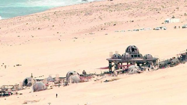 Filming On Disney's Han Solo Movie Continues In Spain, And Another Set Photo Has Emerged To Prove It