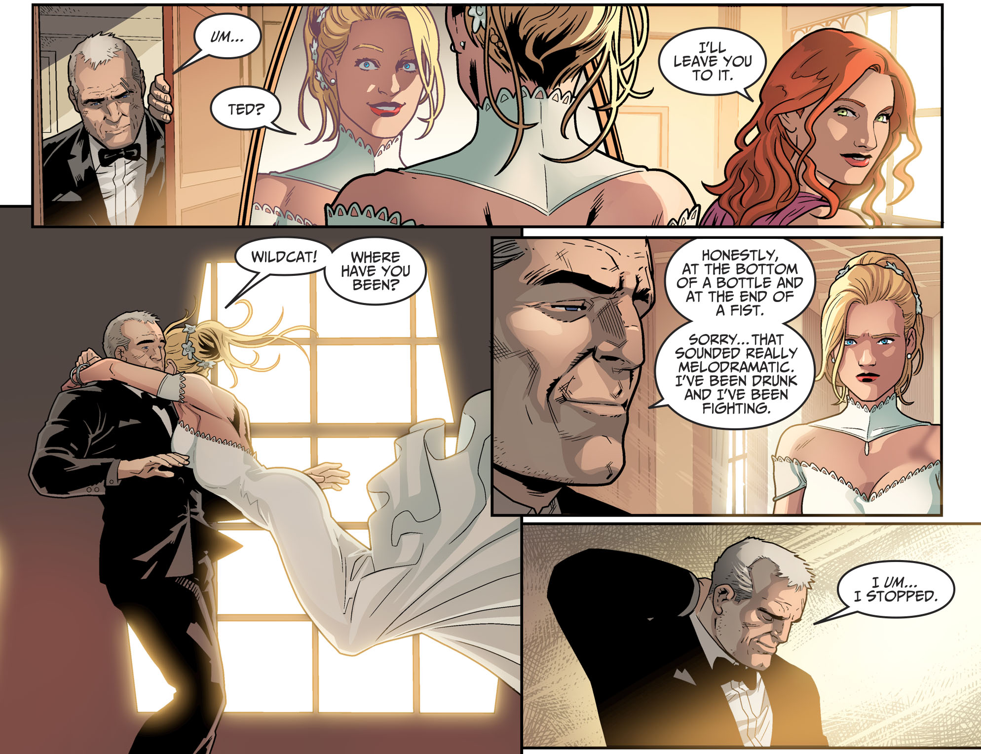 Exclusive Preview: Green Arrow Weds Black Canary In Injustice 2 Ch. 13