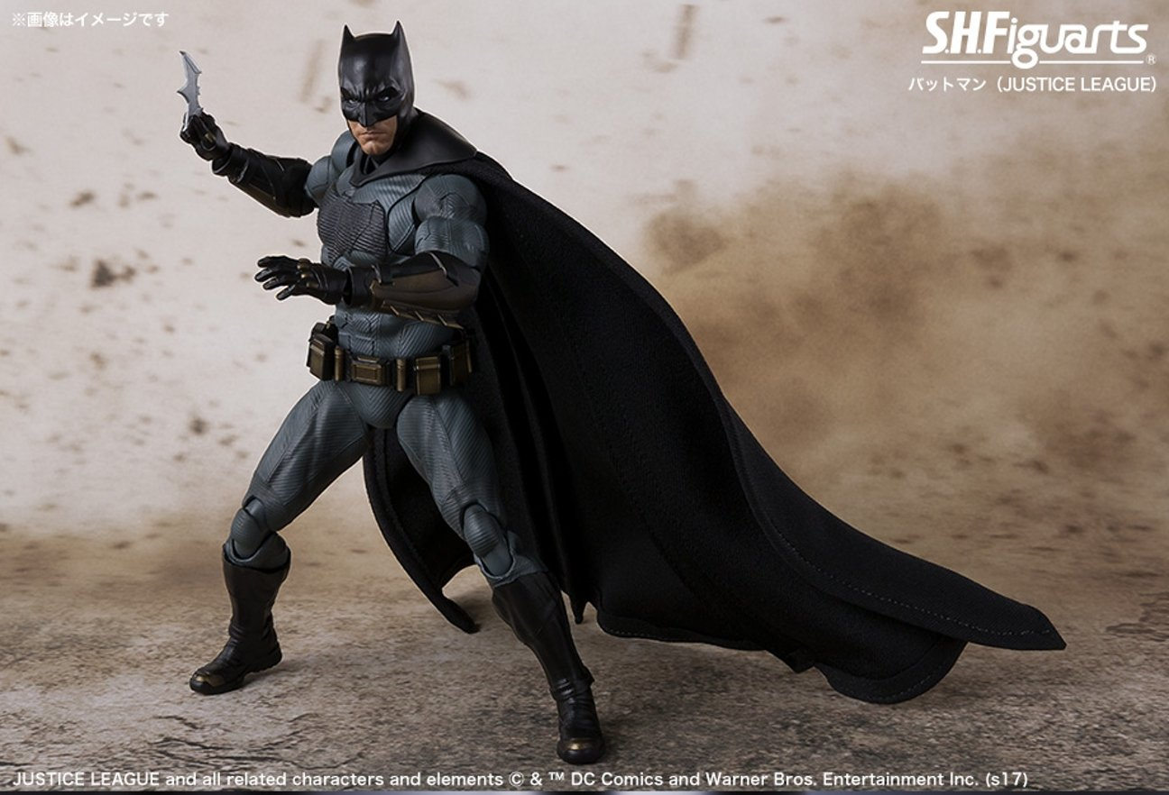 Justice League Merch Takes You Up Close And Personal With Gotham's Dark Knight