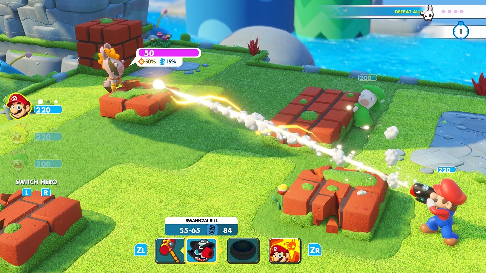 Mario + Rabbids: Kingdom Battle Hands-On Preview: Rabbids Gone Mild [E3 2017]