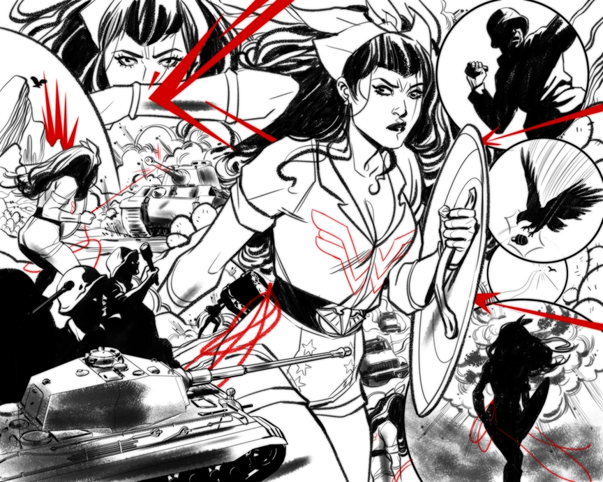 Wonder Woman Takes Center Stage In New Series Bombshells United