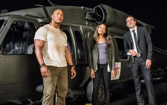 The Rock Is On The Trail Of A Massive Gorilla In Another Set Photo For New Line's Rampage Movie