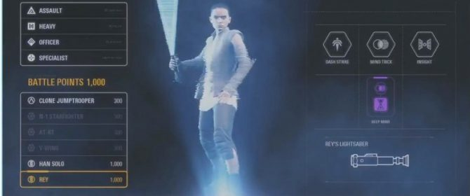 Leaked Battlefront II Image Points To A Possible New Lightsaber For Rey In Star Wars: The Last Jedi