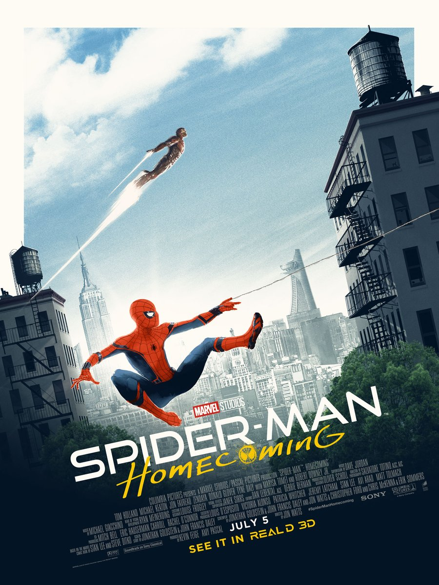 Secrets Are Uncovered In Latest Round Of Spider-Man: Homecoming Promos; New Poster Is All About Parker And Stark