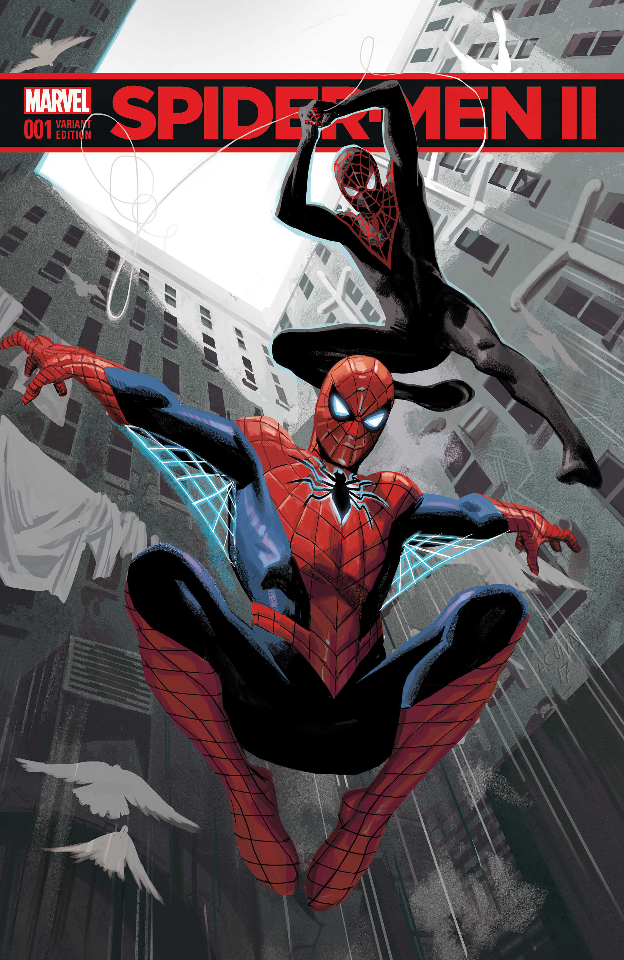 Here's Your First Look Inside The Long Awaited Spider-Men II #1
