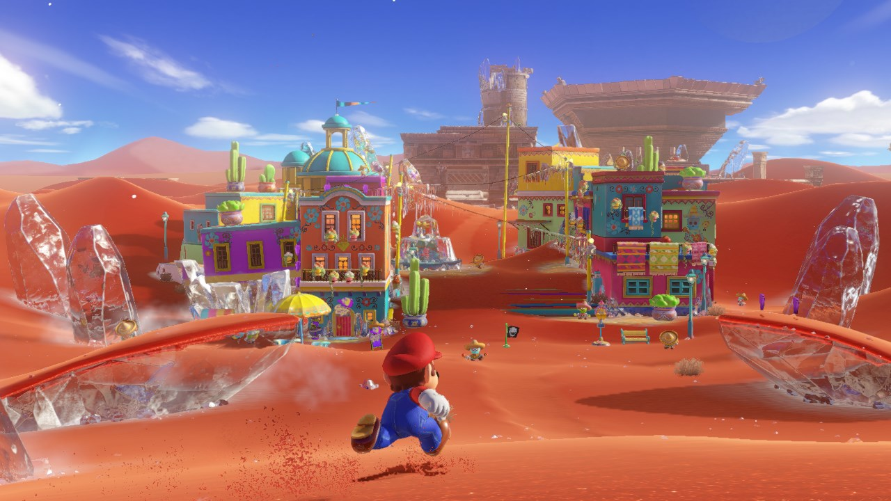 Super Mario Odyssey Hands-On Preview: A Whole New World [E3 2017]