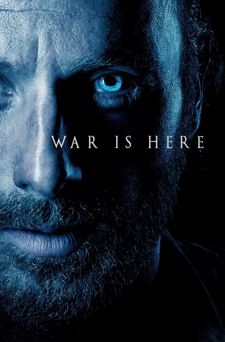 The Winds Of Winter Blow Over The Walking Dead In Fun Crossover Poster