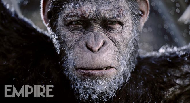 A Weary-Looking Caesar Is Placed Front And Center In All-New War For The Planet Of The Apes Pic